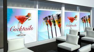 carteles de bares