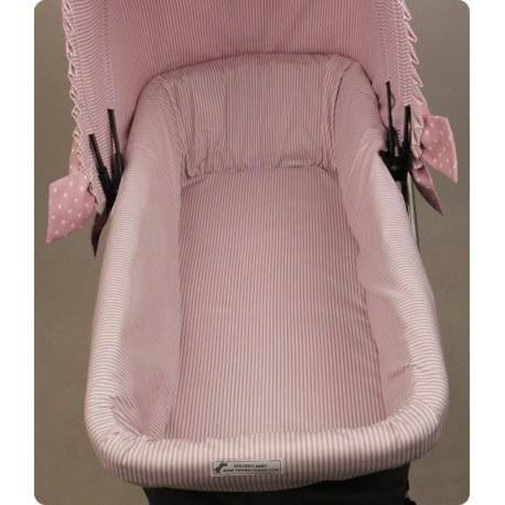 La funda cubre capazo y otros articulos para el carrito del bebe