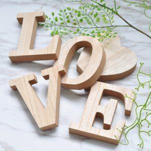 comprar letras de madera