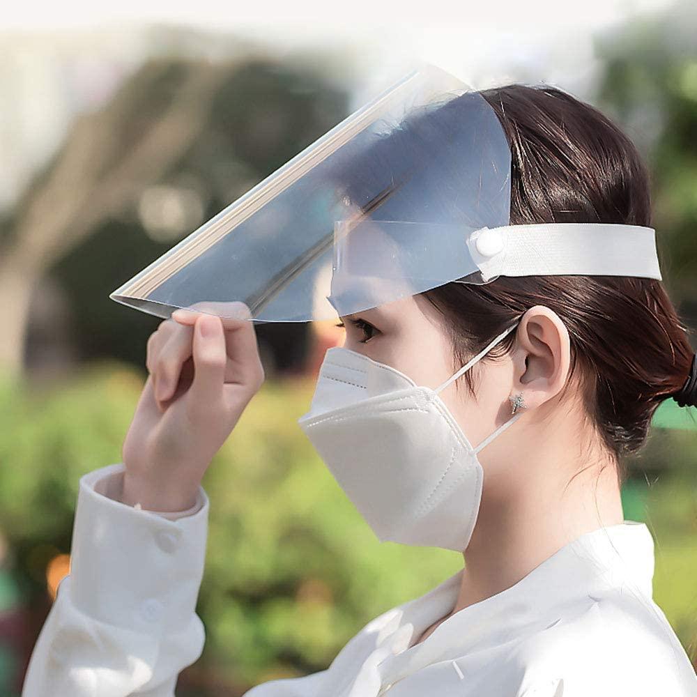 Las PANTALLA facial protectora contra el CORONAVIRUS