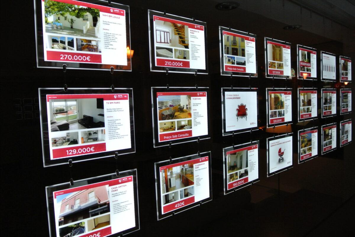 carpetas led inmobiliaria